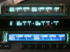 Midi Function Display